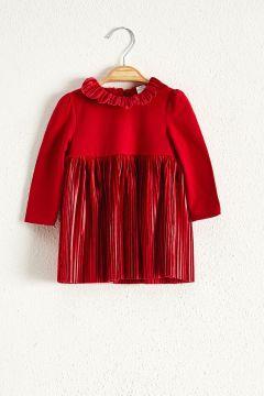 Bebek Kız Bebek Kadife Elbise(122593804)