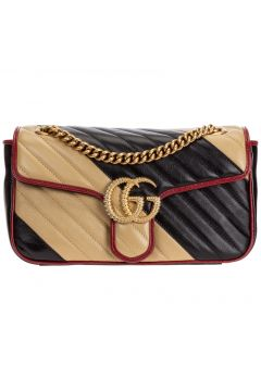 Women's leather shoulder bag gg marmont piccola(126243302)