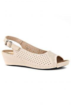 Jasmine Krem Kadın Sandalet(105256864)