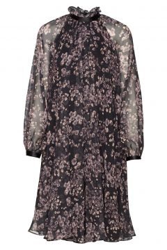 Felice Dress Kleid Knielang Bunt/gemustert IDA SJÖSTEDT(114164016)