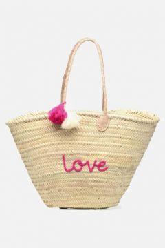 SALE -30 Etincelles - Panier artisanal Love Fuschia - SALE Handtaschen / rosa(111573953)