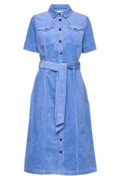 Hellen Kleid Knielang Blau SIX AMES(98254360)