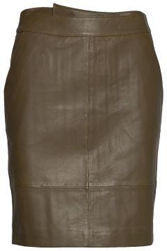 Chargz Mini Skirt Kurzes Kleid Braun GESTUZ(109243152)