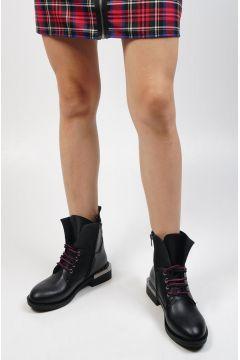 Marjin Siyah Kadın Aventa Topuklu Bot(121368465)