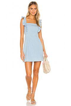Мини платье chambray all day - BB Dakota(115070012)