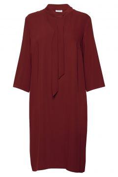 Dress Woven Fabric Kleid Knielang Rot GERRY WEBER(114165029)
