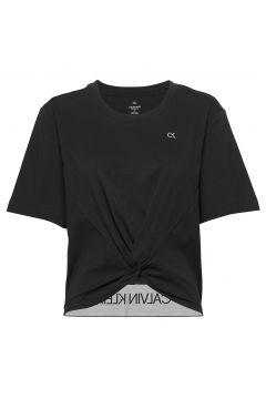 Short Sleeve T-Shirt T-Shirt Top Schwarz CALVIN KLEIN PERFORMANCE(115542339)