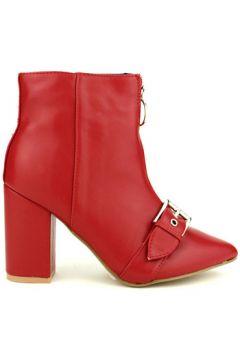 Bottines Cendriyon Bottines Rouge Chaussures Femme(115425800)