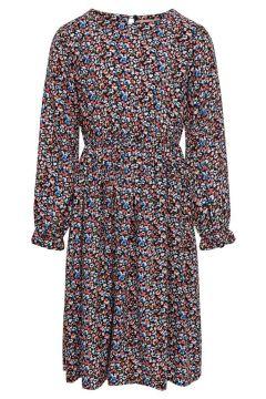 ONLY Langärmeliges Kleid Damen Blau(109184826)