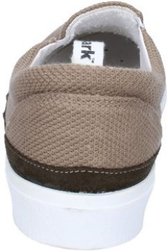 Chaussures Bark slip on marron textile daim AG581(115393484)