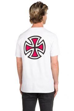 Independent Bar Cross T-Shirt wit(85168986)