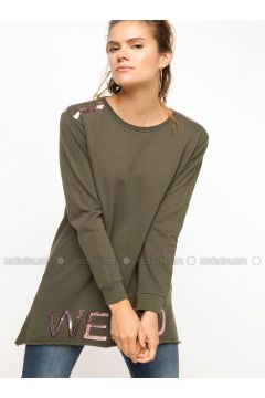 Khaki - Dresses - DeFacto(110335275)