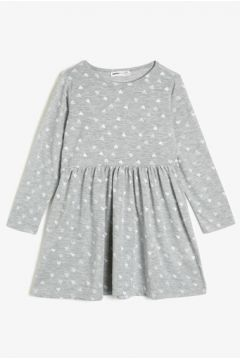 Koton Kız Çocuk Desenli Elbise(117384467)
