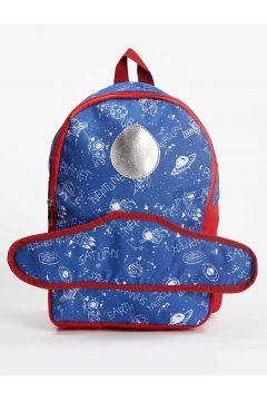 DeFacto Erkek Çocuk Uzay Aracı Figürlü Okul Çantası(125929726)