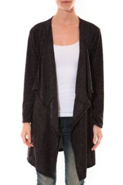 Gilet Barcelona Moda Cardigan Long Fashion Moda Noir(115472810)