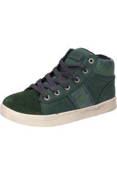 Chaussures enfant Blaike sneakers vert daim cuir AD767(115393770)