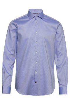 Dobby Flex Collar Slim Shirt Hemd Business Blau TOMMY HILFIGER TAILORED(112084893)