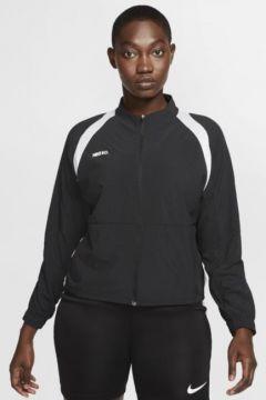 Nike F.C. Tam Boy Fermuarlı Kadın Futbol Ceketi(113781251)