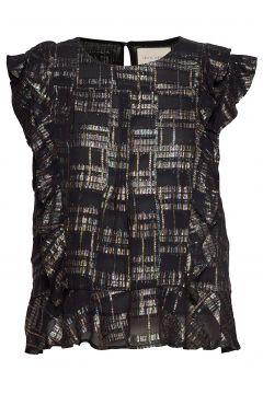 Harmony Top Blouses Short-sleeved Schwarz LOLLYS LAUNDRY(114152243)