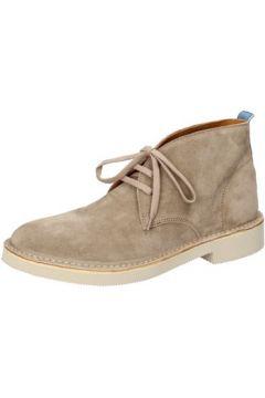 Boots Moma bottines beige daim AB326(115394087)