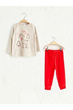 Bebek Kız Bebek Pijama Takımı(126710490)