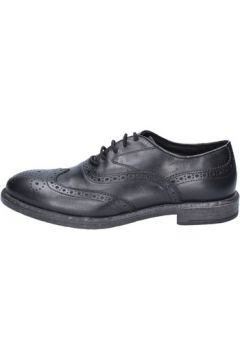 Chaussures Cesare Maurizi élégantes noir cuir BX526(115442574)