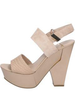 Sandales Marciano sandales beige daim cuir BZ430(127878131)