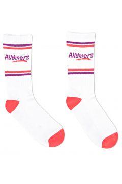 Sports Socks Alltimers Estate - White Red Purple(115689920)