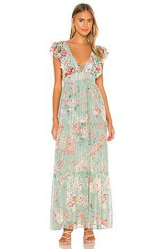 Макси платье olivia - HEMANT AND NANDITA(118965080)