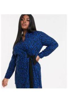 Koko - Vestito camicia con stampa leopardata-Multicolore(120330071)