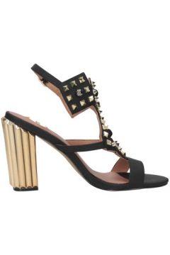 Sandales Exé Shoes MONA-920 BLACK/GOLD(101582394)