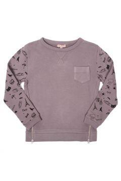 Sweatshirt Paris mit seitlichen Reißverschlüssen(113612332)