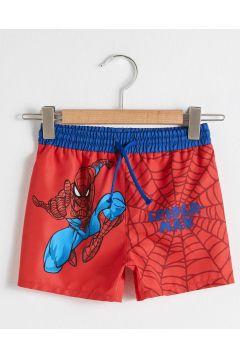 Bebek Erkek Bebek Spiderman Baskılı Yüzme Şort(127690484)