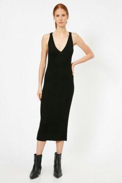 Koton Kadın V Yaka Elbise(108808709)
