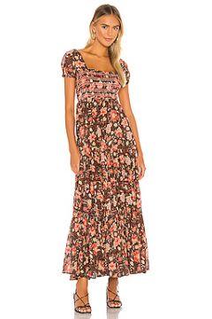 Платье миди getaway - Free People(115065129)