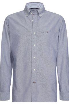 Camisa recta de tejido oxford de algodón(109281507)