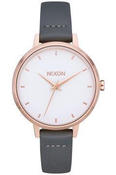 Nixon The Medium Kensington Leather rose gold/gray(97844562)