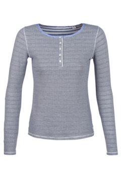 T-shirt Maison Scotch LONG SLEEVES NAVY TOP(88616152)