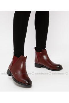 Maroon - Boot - Boots - Snox(110318980)