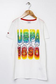 U.S. Polo Assn. Beyaz Erkek Çocuk T-Shirt(114002770)