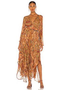 Платье с ярусным асимметричным подолом lauren - Mes Demoiselles(125435226)