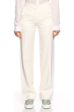 Karl Lagerfeld-Karl Lagerfeld Beyaz Pantolon(118837483)