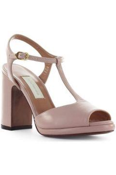 Sandales L\'autre Chose Sandale En Cuir Rose Poudré(127946255)