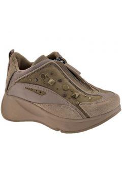 Chaussures enfant Fornarina Borchie Zip Talon compensé(115496910)