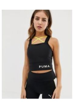 Puma - Chase - Kurzes Oberteil mit Trägern in Schwarz - Schwarz(86705738)