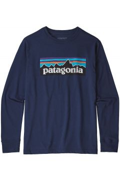 Patagonia Graphic Organic Long Sleeve T-Shirt blauw(85174347)