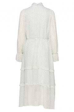Liv Dress Kleid Knielang Weiß TWIST & TANGO(114164545)