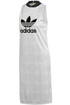 Robe adidas FASHION LEAGUE TANK VESTITO BIANCO(115476336)