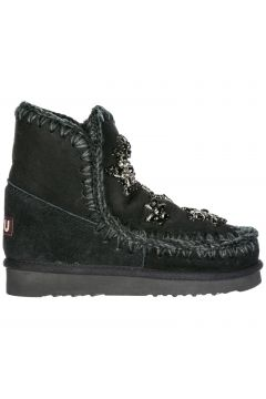 Women's suede ankle boots booties eskimo 18 crystal stars(118070871)
