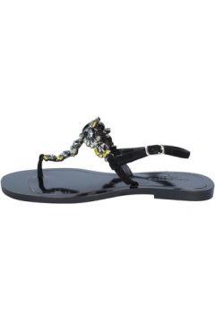 Sandales Calpierre sandales noir daim BZ879(115399055)